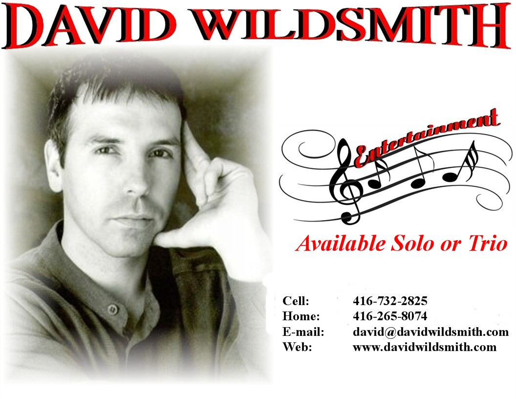 David Wildsmith ad